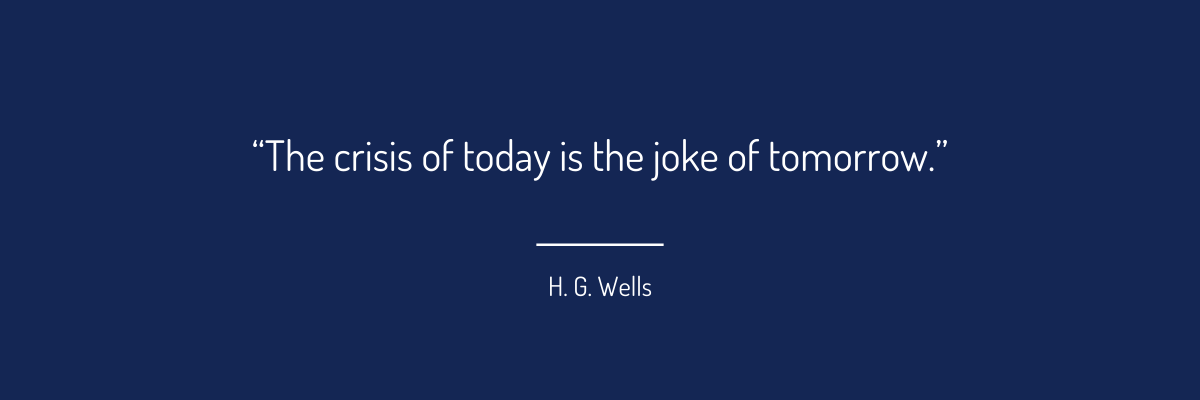 Dr Paul Eliadis Quote H.G.WELLS